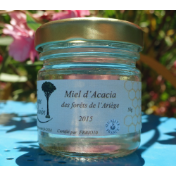 Organic Acacia honey - mini jar 50g - 2015 harvest