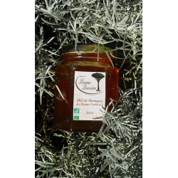 "Organic ""Hautes Corbières"" mountain honey - 2014 harvest - jar 250g"