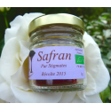 "Organic saffron in filaments ""pure stigmas"" - 2017 harvest - jar 1g"