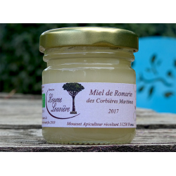 Corbières Maritimes Organic Rosemary honey - 2017 harvest - jar 50g