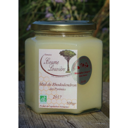 Pyrenean Rhododendron organic honey - 2017 harvest - jar 500g