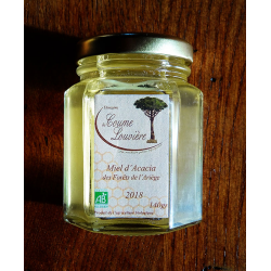 Organic Acacia Honey - jar 140g - 2018 harvest
