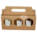 Gift set of 3 Organic honey - 3x250g